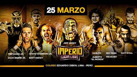 Sigue en vivo las peleas del evento de Imperio Lucha Libre