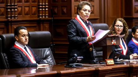 Luz Salgado y Richard Acuña discutieron en vivo por donaciones del Congreso