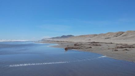 Playas de Lambayeque se encuentran insalubres por lluvias