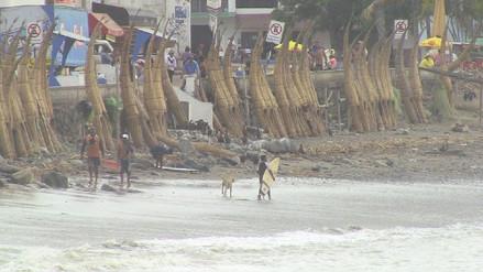Huanchaco: temperatura del mar continúa descendiendo