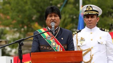 Evo Morales a Chile: