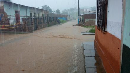 Lluvias afectan a distritos andinos de la región Lambayeque