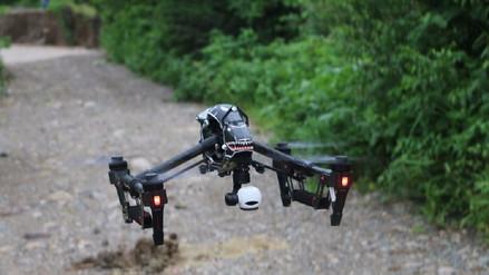 Con drones evaluarán riesgos en reservorio Tinajones