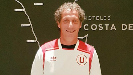 Pedro Troglio llegó a Lima y se puso la camiseta de Universitario