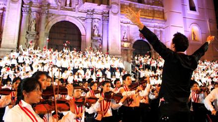 Coro y orquesta del proyecto social de Juan Diego Flórez se presentará a favor de los damnificados
