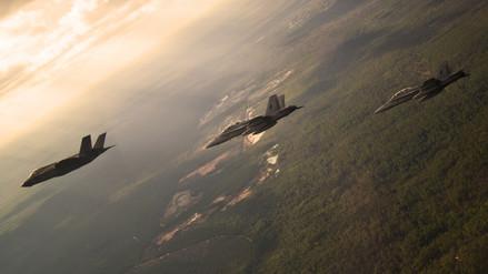 Estados Unidos realizó ejercicio militar con cazas furtivos en cielo coreano
