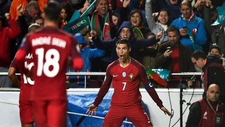 Cristiano Ronaldo alcanzó los 70 goles con Portugal ante Hungría