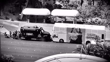 Un muerto y un herido tras tiroteo en un autobús en Las Vegas