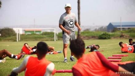 Pedro Troglio entrenó con Universitario de Deportes en Campo Mar