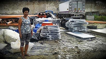 Denuncian que ayuda humanitaria en Piura se almacena en pésimas condiciones