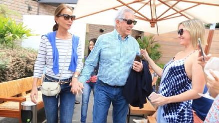 PPK y Mario Vargas Llosa se reunieron esta tarde en San Isidro