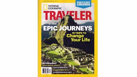 Machu Picchu se luce en la portada de la revista National Geographic