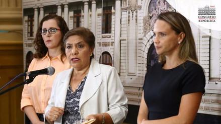 """Luz Salgado: """"Es un desatino decir que el Congreso actúa de forma parcializada"""