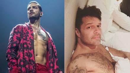 Maluma niega tener un vídeo sexual con Ricky Martin