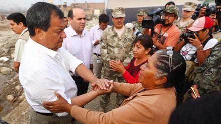 Ministro Jorge Nieto a familias aisladas: