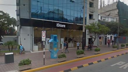 Intento de robo a una tienda de productos Apple desató una balacera