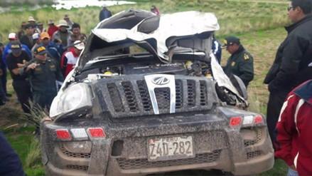 Azángaro: regidor del distrito de Chupa muere en accidente de tránsito