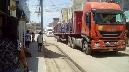 Virú: tránsito por sector La Alameda de restablece de manera parcial