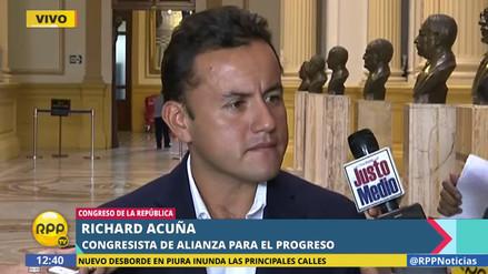 """Richard Acuña: """"Lo único que solicitamos es que todo donativo vaya al COER"""""""