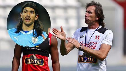 Sebastián Abreu pide la continuidad de Ricardo Gareca en Perú