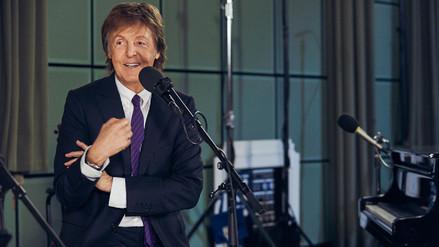 Paul McCartney trabaja en un nuevo disco