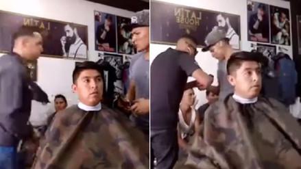 Asalto a barbería de San Martín de Porres fue transmitido vía Facebook