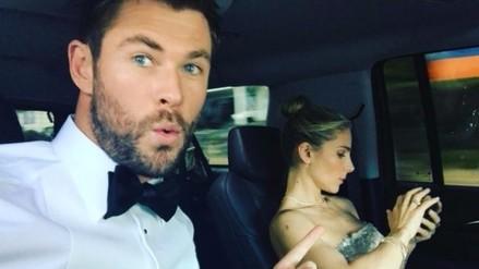 Tierna imagen revela el amor de Chris Hemsworth por los animales