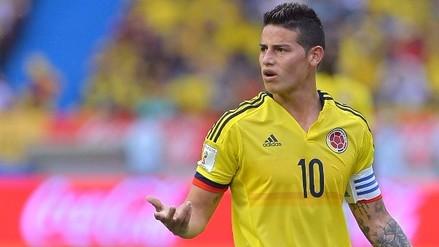 El lamentable gesto obsceno de James Rodríguez a la prensa colombiana