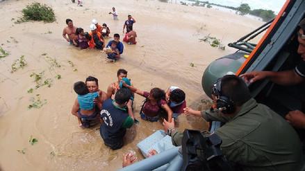 Ejército rescató a 532 personas que quedaron aisladas por inundaciones