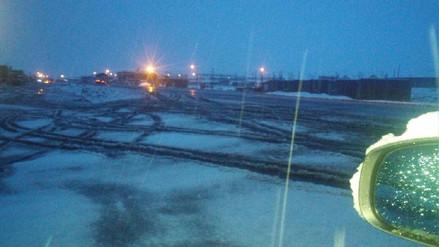 El tránsito es restringido en la carretera Arequipa Puno por nevada