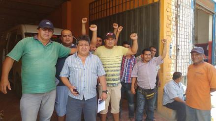 Chiclayo: transportistas protestan por cobro de peaje pese a la emergencia