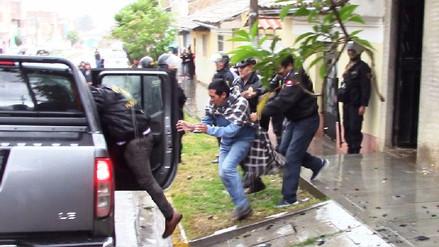 Huancayo: reconstrucción de crimen termina en enfrentamiento