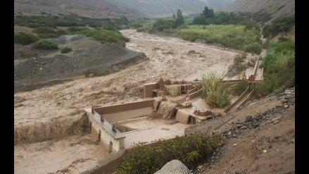 Alerta por incremento del caudal del río Santa