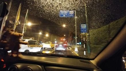 Una llovizna cayó sobre Lima durante la madrugada