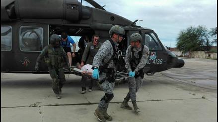 Fotos | Fuerza Aérea de Colombia demuestra su solidaridad en la devastada Piura
