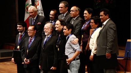 Ministerio de Cultura galardonó a actores por el Día Mundial del Teatro