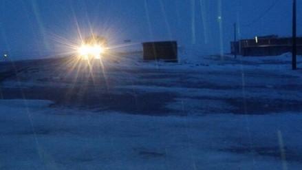 Lluvias y nevada por más de 7 horas afectaron zonas altas de Arequipa