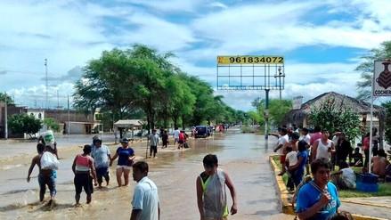 La Policía se rectificó y descartó muertos en Catacaos por las lluvias