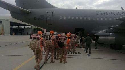 Arequipa: 200 soldados viajaron a Piura para ayudar a damnificados