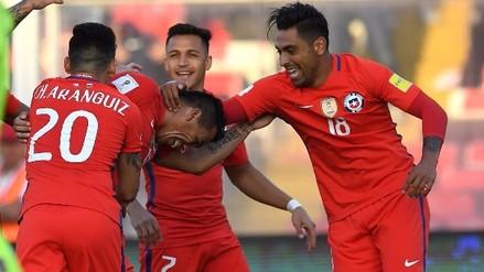 La excelente combinación chilena que terminó en golazo de Paredes