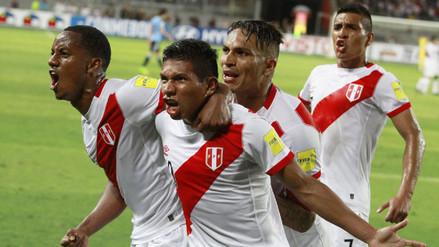 Perú ganó 2-1 a Uruguay y envió un mensaje de lucha a los damnificados