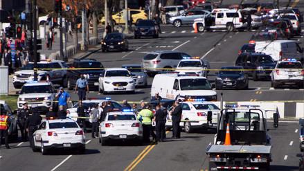 La Policía disparó contra un auto cerca al Congreso de los Estados Unidos