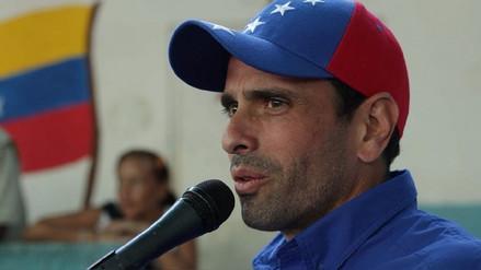 Capriles pide a Colombia un canal humanitario para enviar ayuda a Venezuela