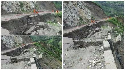 Provincia de La Unión aislada por colapso de vía Chuquibamba-Cotahuasi