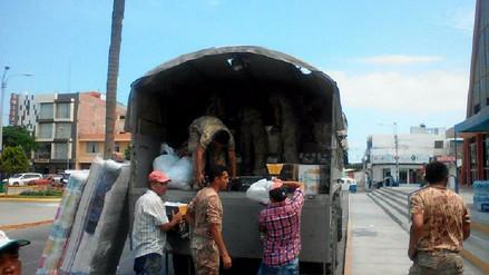 Primer vuelo con ayuda humanitaria parte hoy a Piura