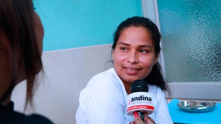 """Evangelina Chamorro: """"Hermanos de Piura, tenemos que seguir y ponernos fuertes"""""""