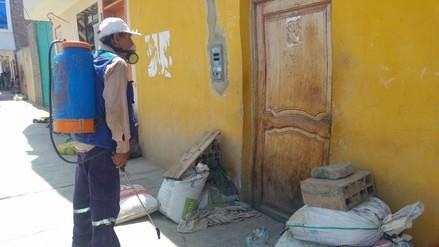 Nuevo Chimbote: fumigarán colegios y pueblos afectados por las lluvias
