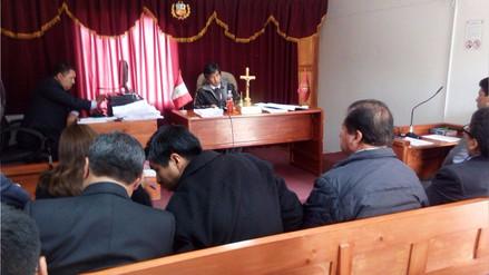 El 4 de abril dictarán sentencia a exfuncionarios de David Mamani