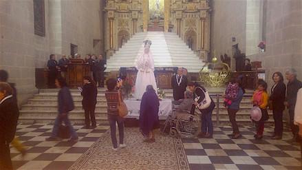 Virgen de los Dolores es venerada por cientos de cajamarquinos