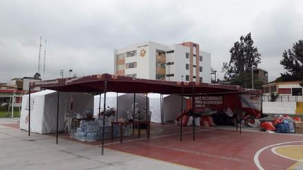 Comerciantes de mercado San Camilo entregan 5 toneladas de ayuda humanitaria